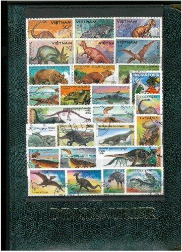 Goldhahn Spezial - Album Dinosaurier Briefmarken für Sammler