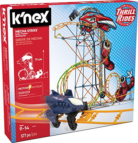 K 'NEX 18515 Mecha Strike Roller Coaster Building Set - Mech-modell-kit