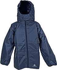 DRY KIDS Packaway wasserdichte Jacke. Unisex Mantel ideal für Draußen spielen. Spiele DryKids Hose DK002