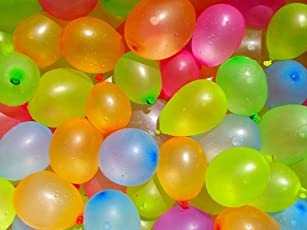 300 Pcs Multicolor Water Shooting Balloons , E LV HIGH Quality Balloons for Holi - Multicolor