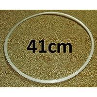 Protezione per pavimenti e per sgabelli da bar, ad anello, confezione da 2 x 41 cm