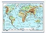 Mapa del mundo para pared