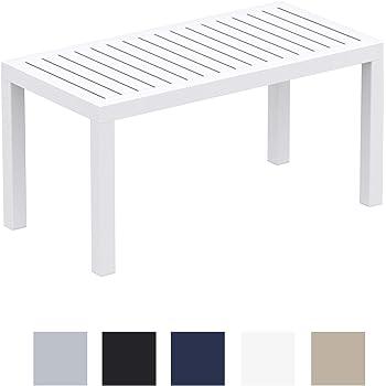 CLP Table Lounge Ocean - Table de Jardin Résistante aux Intempéries ...