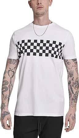 Urban Classics CheckPanel Tee T-Shirt Uomo
