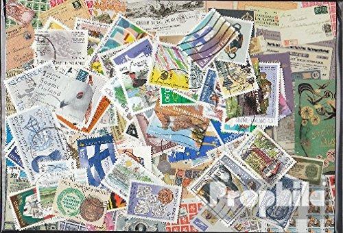 Prophila Collection Finnland 100 Verschiedene Sondermarken und Großformate (Briefmarken für Sammler)