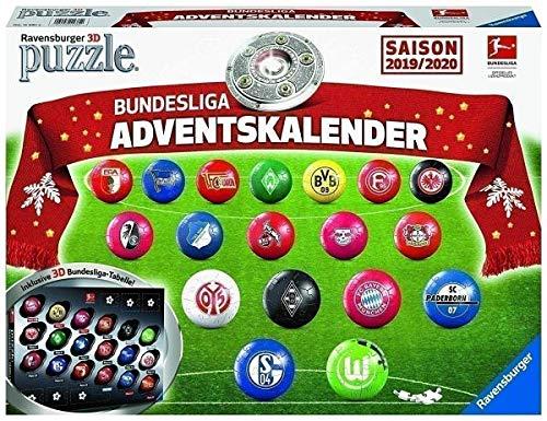 Ravensburger 11681 - Calendario de Adviento de la Bundesliga Temporada 2019/2020