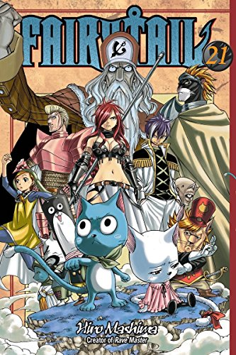 Fairy Tail 21 Cover Image