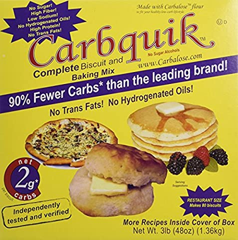 Carbquik Baking Mix, 3 lb. box by Carbquik