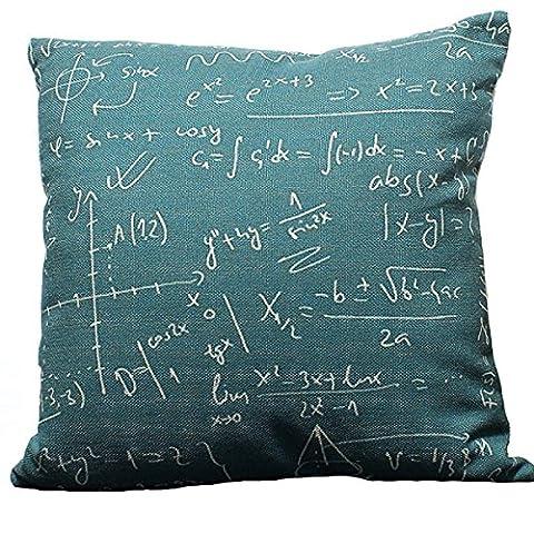 Géométrique Résumé Modernes Mathématiques Nostalgie Oreiller Littéraire Frais Coussins Coussin
