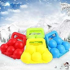 Queta Outdoor Schneeball Maker Schneeball Zubehör Schneeball Klemme Kampf Clip Schnee Spielzeug für Kinder