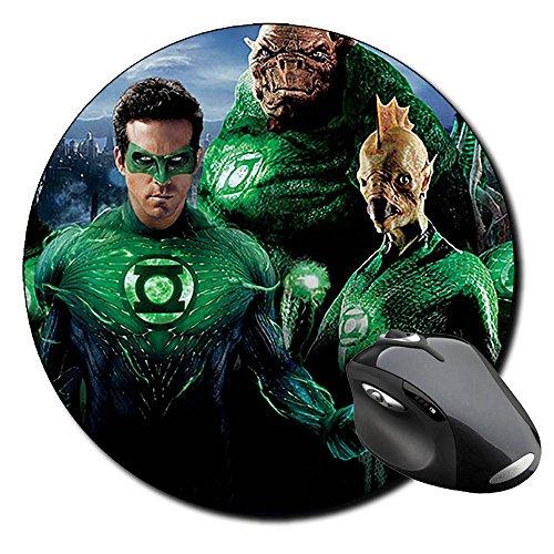 linterna-verde-green-lantern-ryan-reynolds-c-tapis-de-souris-ronde-round-mousepad-pc