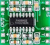 #6: Digital DC 5V Amplifier Board Class D 2*3W USB Power PAM8403 Audio Module