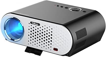 CiBest Protable LCD Projector HD 1080p 3200 Lumen LED Multimedia Projector