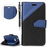 SainCat Coque Galaxy J1 Mini Prime, Ultra Slim Anti-Scratch Bookstyle Etui en PU Cuir...