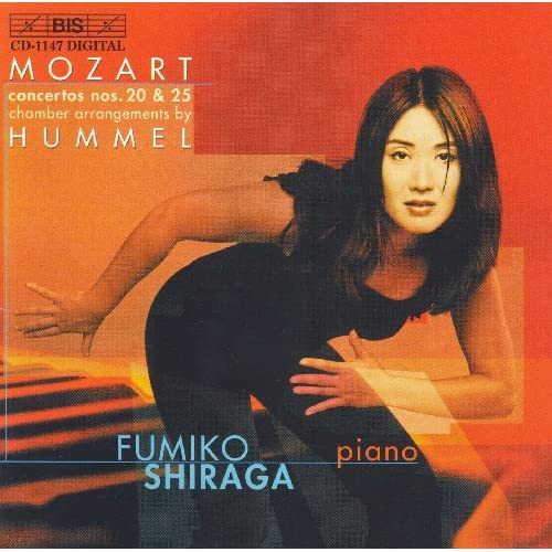Mozart: Piano Concertos Nos. 20 and 25 (arr. Hummel for chamber ensemble)