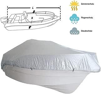 weiß Plane Bootsabdeckung Persenning aus Polyester in verschiedenen Größen