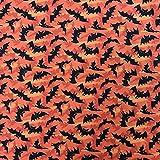 Discover Direct Halloween Fledermäuse orange mit 100%