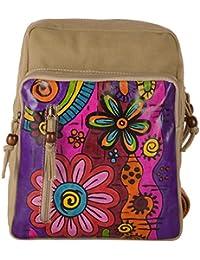 Only Leather Women's Shoulder Bag (Beige)