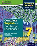 Complete English for Cambridge Secondary 1 Student Book 7: For Cambridge Checkpoint and beyond by Tony Parkinson (2016-01-14)