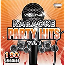 Karaoke Party Hits CDG CD+G Disc Set - 150 Songs on 8 Discs Including The Best Ever Karaoke Tracks Of All Time (Adele, Edd Sheeran, Coldplay, Abba, Beatles, Frank Sinatra, One Direction and much more) Free Data Disc with Printable Songbook and Request Slips in Hard Presentation Case - From Vocal-Star Karaoke 2016