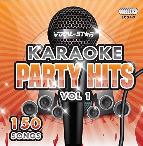Karaoke Party Hits CDG CD + G Disc Set - 150 Songs auf 8 Discs Einschließlich der besten aller Karaoke Tracks aller Zeiten (Adele, Edd Sheeran, Coldplay, Abba und vieles mehr)