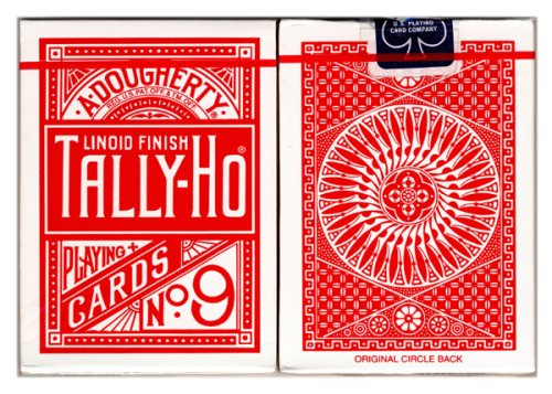 tally-ho-poker-cards-no-9-mit-circle-back-in-rot