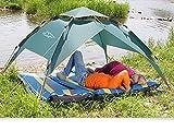Toogh pop - up Zelte/ Familienzelt Camping zelt für 2-3 Personen/Outdoor Reise Camping Wandern Strand mit Tragetasche Zelt -