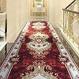 WJS Corridor Carpet Aisle Fondo Antiscivolo Tappetino per Rotella di Sartoria, Spessore 5mm (Colore : B, Dimensioni : 60 * 100cm)