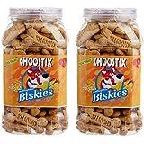 Choostix Biskies With Real Chicken, 500 G (Pack Of 2)