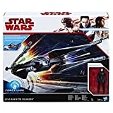 Hasbro Star Wars C1252EU4 - Episode 8 Forcelink Tie Silencer mit 3.75 Zoll Kylo Ren Figur, Actionfigur
