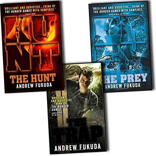 Portada del libro Andrew Fukuda Hunt 3 Books Collection Pack Set (The Hunt, The Trap, The Prey)