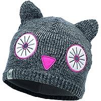 Buff Mädchen Knitted and Polar Hat Kopfbedeckungen