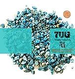 7UG Apatit - Blaue Rohsteine aus Madagaskar - 200 g - für Strukturen in der Experimentellen Malerei und Mixed Media Techniken