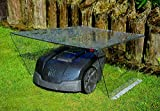 MOWHOUSE Mähroboter & Rasenroboter Garage Transparent - Carport Dach & Unterstand für Rasenmäher Roboter Robomäher Robomower