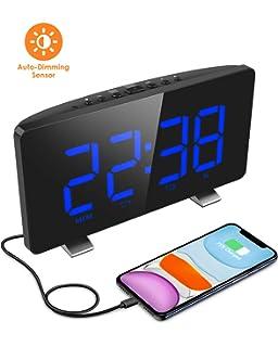 Philips AJ3115 Radio Réveil avec Tuner FM avec ecran, Double