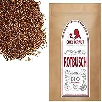 EDEL KRAUT | BIO Rotbusch Tee geschnitten - Premium Roibusch kbA - 1000g