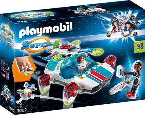 Playmobil 9002 - FulguriX mit Agent Gene -