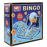 Bingo-Set 48 Karten, 100 Spielsteine, 90 Bingobälle und der Bingoball-Spender