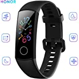 Docooler HONOR Band 5 Smart Bracelet Heart Rate 0.95 Inch Colourful AMOLED Display Real Time Heart Rate Monitor 5ATM Waterproof Sports Watch
