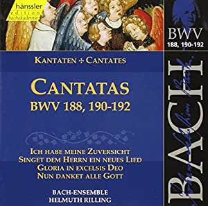 Edition Bachakademie Vol. 57 (Geistliche Kantaten BWV 188, 190-192))