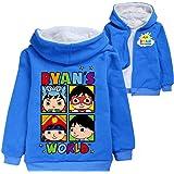 Ryan Pullover Soft Abrigos Niñas Sudaderas Ocio Outwear Básicas Chaquetas de Invierno Suéter para Niños