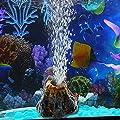 Dairyshop Aquarium Volcano Shape & Air Bubble Stone Oxygen Pump Fish Tank Ornament Decor from Dairyshop
