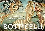 Postkartenbuch Sandro Botticelli - Sandro Botticelli