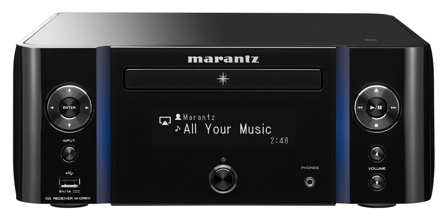 61QmuKWtrqL - Marantz M-CR611 Melody Media Network CD Receiver with DAB/DAB+ - Black