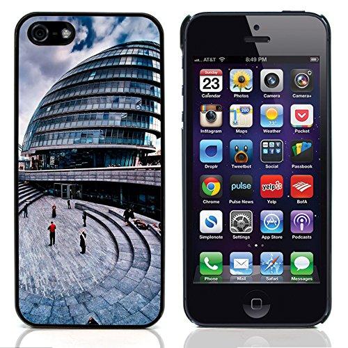 Graphic4You London UK Underground Postkarte Ansichtskarte Design Harte Hülle Case Tasche Schutzhülle für Apple iPhone 5 und 5S Design #6