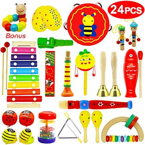 Vykor Musical Toys Wooden Musica...