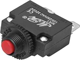 Onpira Sicherungsautomat 12V 24V 230V KFZ Sicherung Bootssicherung Automatik von 3A-20A