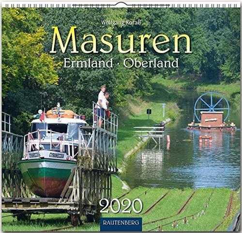 Masuren - Ermland - Oberland: Original Rautenberg-Stürtz-Kalender 2020 - Mittelformat-Kalender 33 x 31 cm