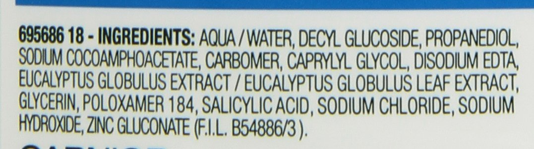 Garnier Skin Active Jabón Líquido Matificante 2 en 1 para Pieles Mixtas a Grasas – 200 ml
