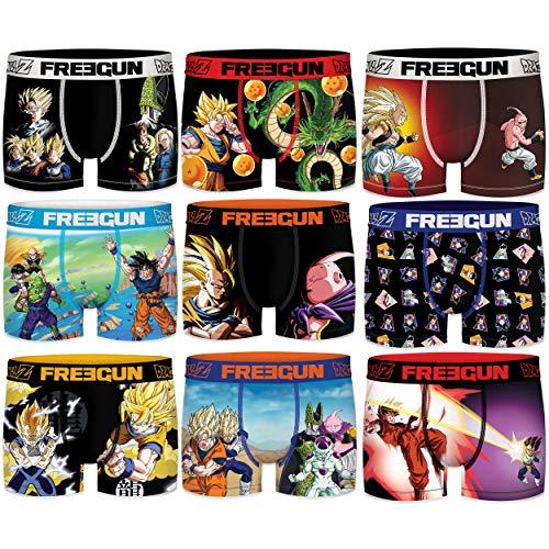 Pack Calzoncillos Dragon Ball Z Surtido 6pcs Hombre